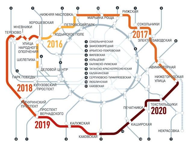 метро некрасовка открытие в 2018 схема