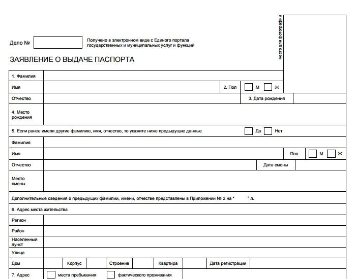 Загранпаспорт нового образца приложение примеры